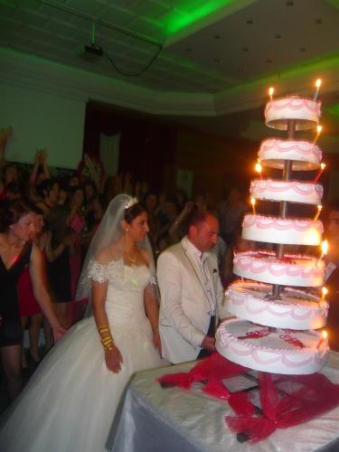 bolo chegou