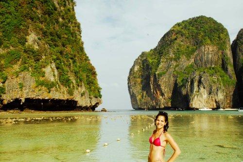 gorgeous maya bay