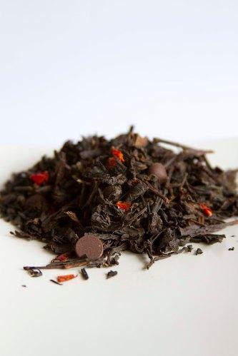 ACAPULCO cha preto chocolate meio amargo pimenta dedo de moca