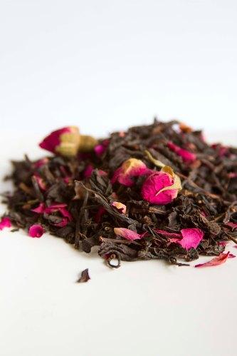 ISTAMBUL cha preto rosas chinesas