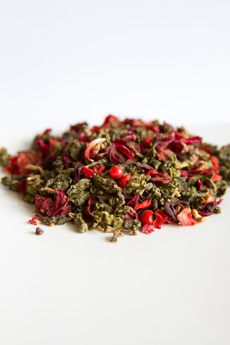 KOH PHI PHI cha oolong morango hibisco pimenta rosa